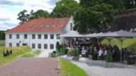 WS View of Restaurant at Akerhus Fortress / Oslo, Norway