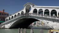 MS View of rialto bridge  / Venice, Veneto, Italy