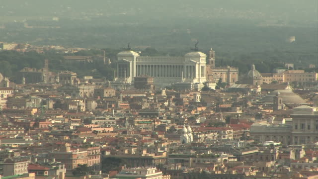 WS ZI ZO View of Rome from Monte Mario / Rome, Italy