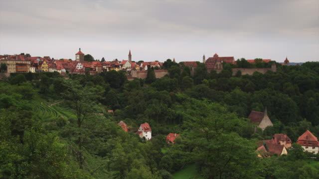WS HA PAN View of Rothenburg ob der Tauber / Germany