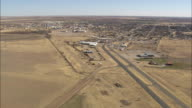 WS AERIAL View of rural area / Texas, United States
