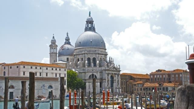 Weergave van Santa Maria della Salute in Venetië, Italië
