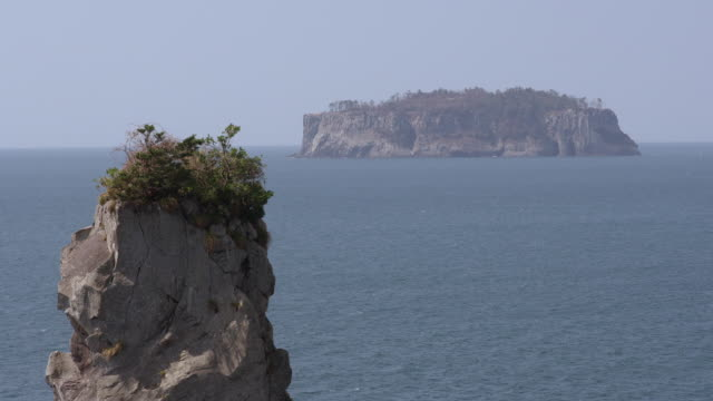 View of seascape of Jeju Island (Most famous travel destination) and Oedolgae (Scenic spot)
