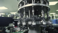 CU View of semiconductor manufacturing machine / Bang Pa-In, Ayutthaya, Thailand