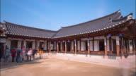 View of Seoul Namsangol Hanongmaeul Folk Vilage (Ouijang, high rank in Joseon dynasty), Choun Ok Kim's house