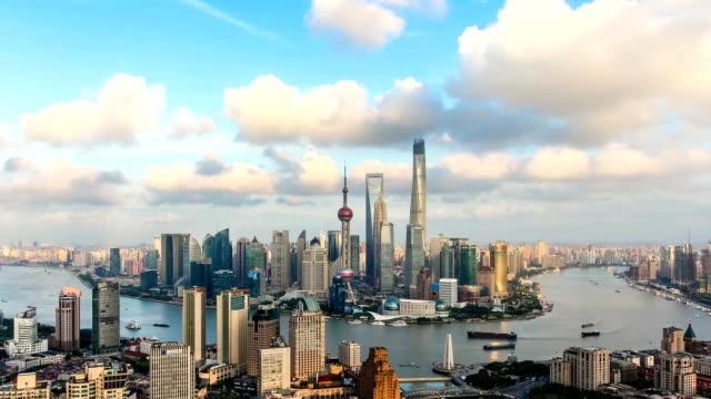 T/L WS HA TD View of Shanghai Skyline / Shanghai, China