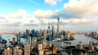 T/L WS HA ZI View of Shanghai Skyline / Shanghai, China