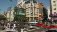 View of Signboard in Buenos Aires, Argentina