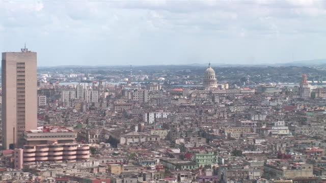 WS ZO View of skyline with Capitol / Havana City, Havana, Cuba