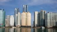 View of skyscraper at Marin City in Haeundae