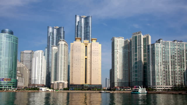 View of skyscraper at Marin City in Haeundae