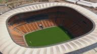 WS AERIAL View of Soccer City / Johannesburg, Gauteng, South Africa