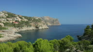 WS View of South West coast of Mallorca close to Port d'Andratx / Port D'Andratx, Mallorca, Spain