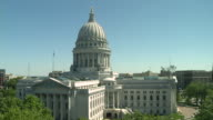 MS View of State capitol / Madison, Wisconsin, United States
