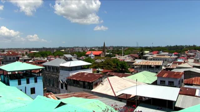 View of Stone Town - Zanzibar / Africa