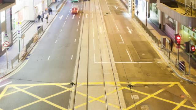MS TU T/L View of street / Hong Kong