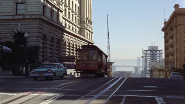 WS View of Street of San Francisco / San Francisco, California, United States