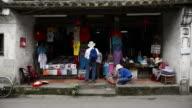 WS View of Street scene / Hoi An, Quang Nam, Vietnam