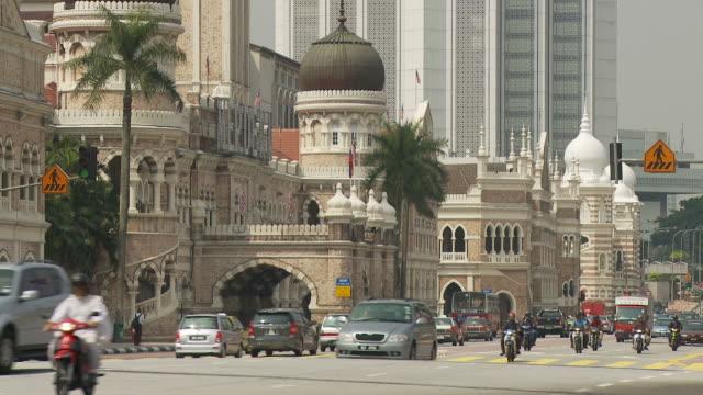 View of Sultan Abdul Samad building in Kuala Lumpur, Malaysia