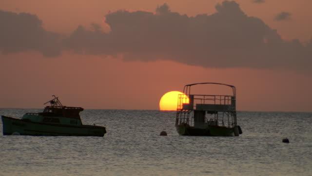 WS View of Sun et with boats / Bridgetown, Saint Michael, Barbados