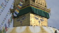 View of Swayambhunath temple in the Kathmandu Valley