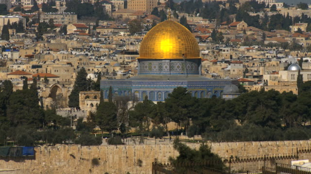 WS View of Temple Mount / Jerusalem, Judea, Israel
