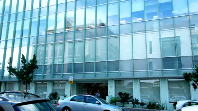 A view of the building that houses the Appleby law firm offices November 8 2017 in Hamilton Bermuda In a series of leaks made public by the...
