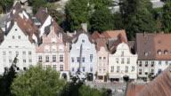 WS View of the city / Landshut, Bavaria, Germany