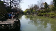 A view of the famous Humble Administrator's Garden on March 27 2017 in Suzhou China The Humble Administrator's Garden is a UNESCO World Heritage Site...