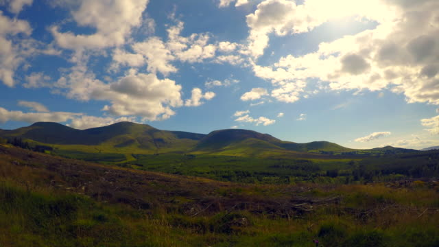 View of the Galtee Mountains