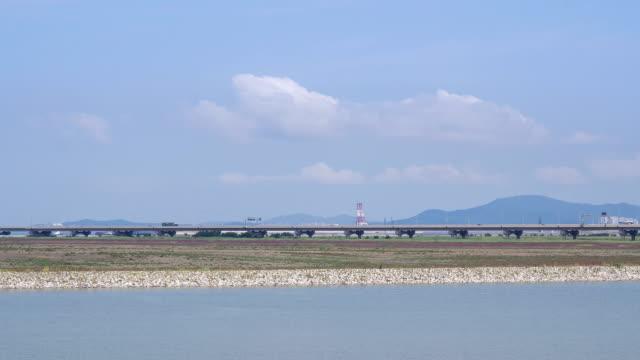 View of the Incheon bridge
