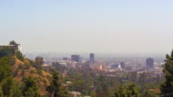 A view of the Los Angeles skyline
