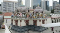 WS View of The Sri Mariamman Temple, Singapore / Singapore