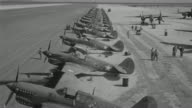 WS HA View of Tiger planes, soldiers walking to more of same activity