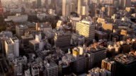 View of Tokyo downtown