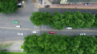 AERIAL View of traffic in city/ Xi'an, Shaanxi, China