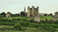 WS PAN View of trim castle / Trim, County Meath, Ireland