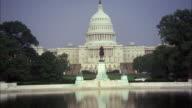 MS ZO View of United states capitol / Washington D.C., United States