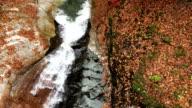 View of valley in Mt.Seoraksan (Biosphere preservation district by UNESCO) in Autumn