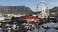 WS PAN View of Victoria and Alfred Waterfront / Cape Town, Western Cape, South Africa