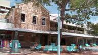 WS PAN View of Victoria hotel at Smith street / Darwin, Northern Territory, Australia