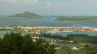 WS HA PAN View of Victoria / Seychelles