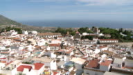 WS PAN View of village Mijas / Costa del Sol, Andalusia, Spain