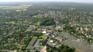 WS AERIAL TD View of village / Walloon Region, Belgium