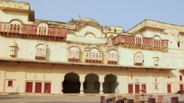 MS PAN View of vinay vilas palace / Alwar, Rajasthan, India