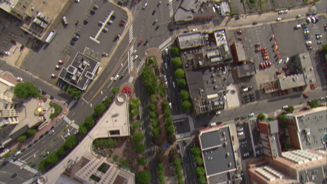 WS AERIAL View of Washington city / Washington, Dist. of Columbia, United States