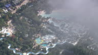 AERIAL WS View of Water park / Florida, United States
