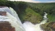 WS View of waterfall at UTIARITI / Campo Novo do Parecis, Mato Grossso, Brazil