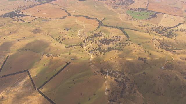 WS AERIAL View of windmills / Macarthur, Victoria, Australia