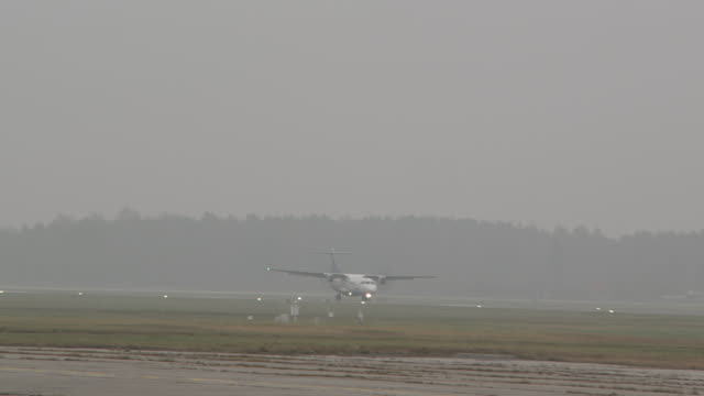 WS TS View of WinnComm Plane landing / Riga, Latvia